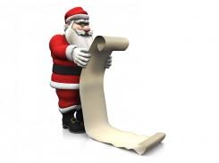 Sąrašiukas Kalėdų Seneliui
